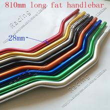 "Pro Taper Fat Bar 1-1/8"" Contour Motorcycle Dirt Bike ATV Cross Fat Bar MX Aluminum Handelbar 1 1/8"" 810mm Long FREE SHIPPING(China (Mainland))"