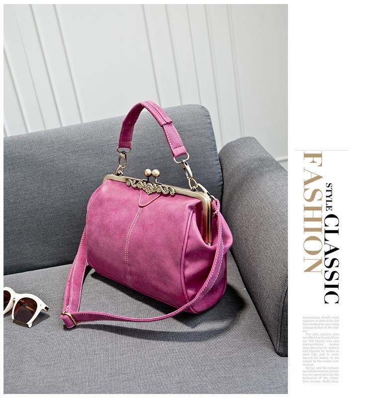 Женская сумка Коко розовая. фото