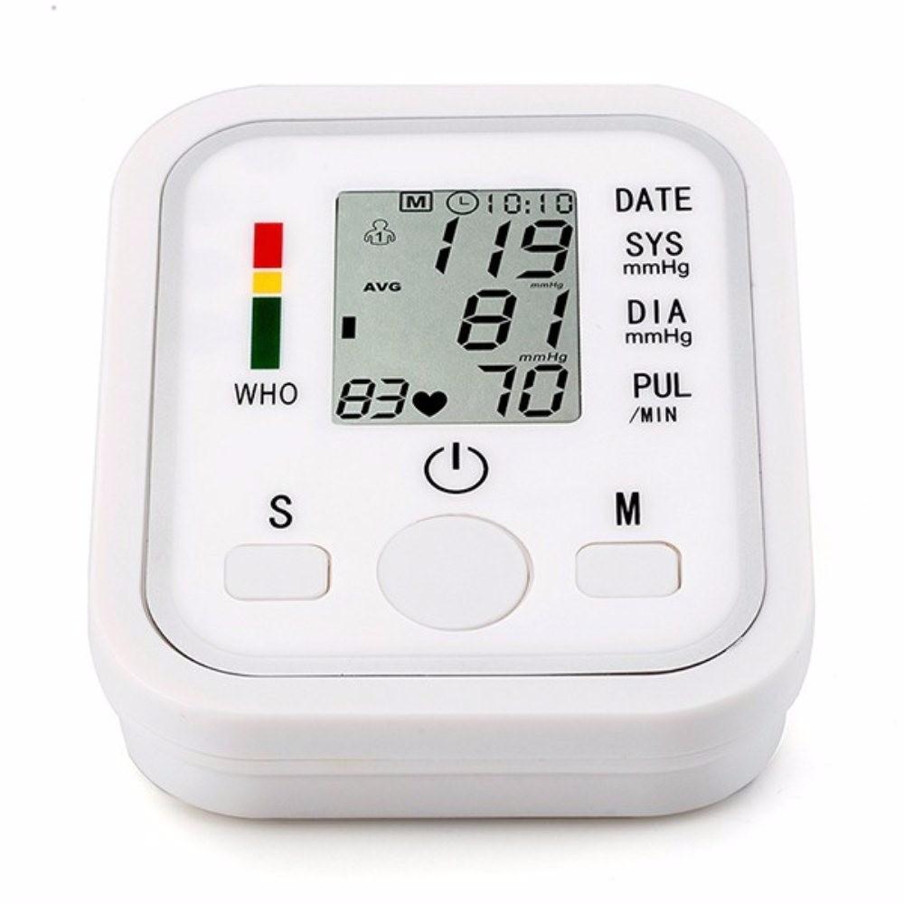 Arm Blood Pressure Bp Monitor Tonometer Hematomanometer Sphygmomanometer Pulsometros Health Monitors Care For Heart Nonvoice cheap