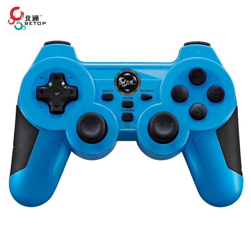 BETOP BTP-2163X USB Interface Shock Computer Game Controller Gamepad With DC-Shifting Swap Functions For Ps3 For PC(China (Mainland))