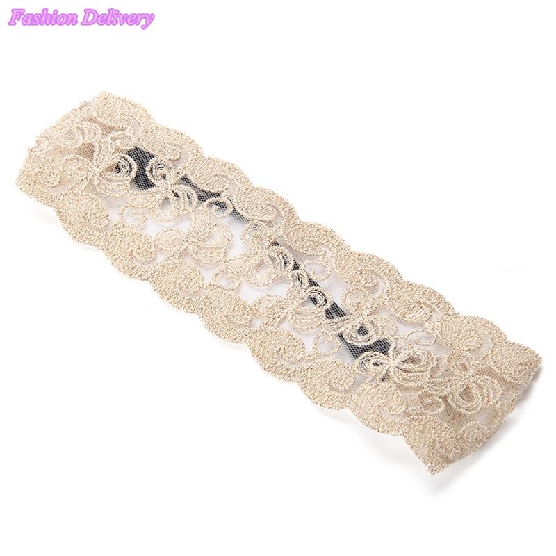 1pcs Fashion Korean Style Lace Flower Elastic Headband Hairband Hair Accessory For Women & Girls Hot Lovely Wedding Headwear(China (Mainland))
