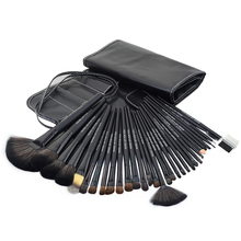 32pcs black Professional cosmetic brush kit makeup brushes set case make up brush kits makeup beauty Face care tool for you