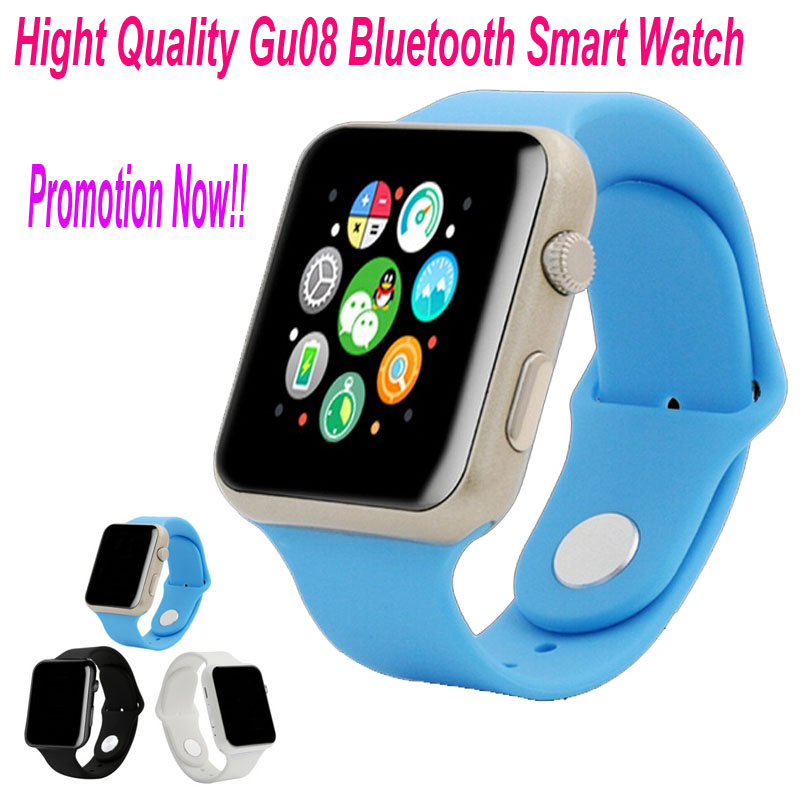 Гаджет  GU08 Bluetooth Smart Watch WristWatch Sport Unisex Wrist Watch for Apple iPhone 4 5S 6 Plus Samsung Huawei Xiaomi HTC OPPO YXF42 None Бытовая электроника