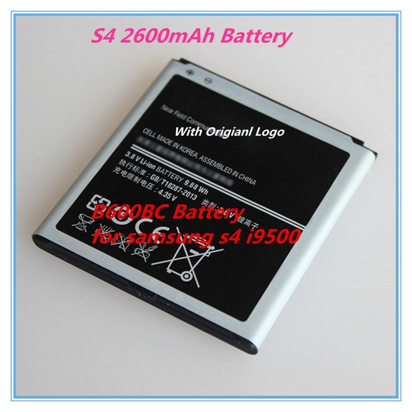 100% Original Replacement Battery For Samsung GALAXY S4 B600BC I9500 I9508 I9505 I9507V(China (Mainland))