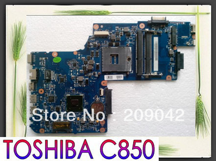 Original Mainboard for DDR3 Integrated Laptop Motherboard C850 H000038380 100% Work perfect(China (Mainland))