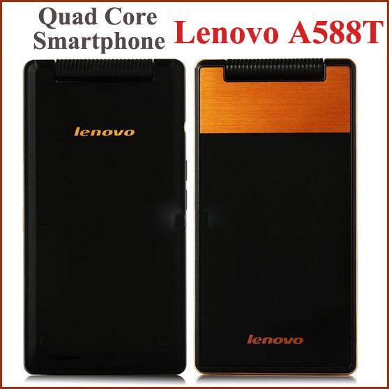Мобильный телефон lenovo 4 A588T Android 4.4 MTK6582 4 5MP GPS WCDMA мобильный телефон moblie lenovo a338t 4 5 4 4 mtk6582 1 3 quad 512 4 wifi sim