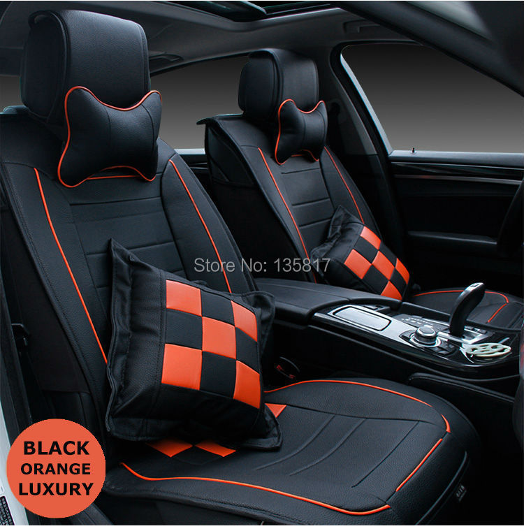 2015 new hot sell universal car seat cushion11pcs leather for car seat cover. Black Bedroom Furniture Sets. Home Design Ideas