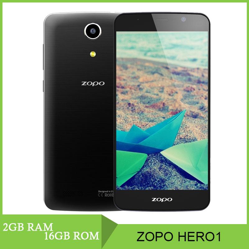 New Original ZOPO HERO1 5 0 LTPS Android 5 1 Smart Phone MT6735 Quad Core 1