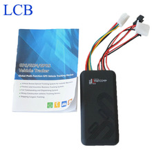 GT06 Mini GSM Quad-Band 850/900/1800/1900MHz GPRS GPS Tracker With Microphone For Vehicle Motor Free Shipping(China (Mainland))