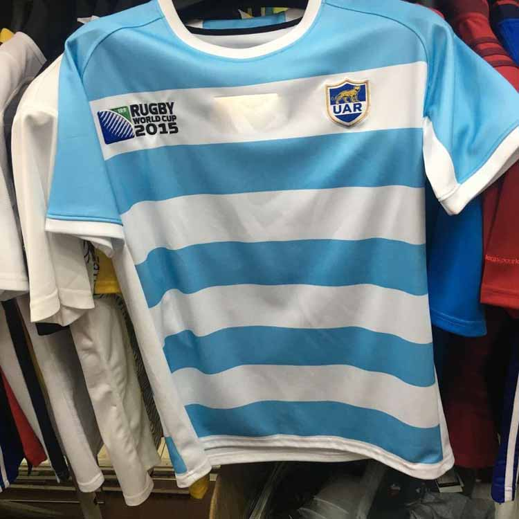 2015 2016 Argentina team Japan Italy Ireland france euro Rugby Jersey Sleeve tops Rugby ball Tee Shirt For Men(China (Mainland))