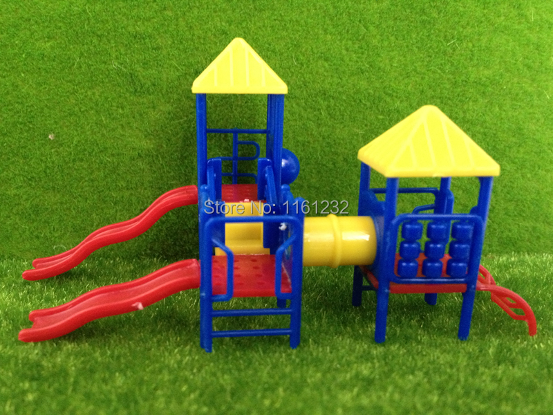 2014 new design 1/75-100 Outdoor Fort and Slide Combination Kids Outdoor Toy/Slide Structure model for outdoor scenery<br><br>Aliexpress
