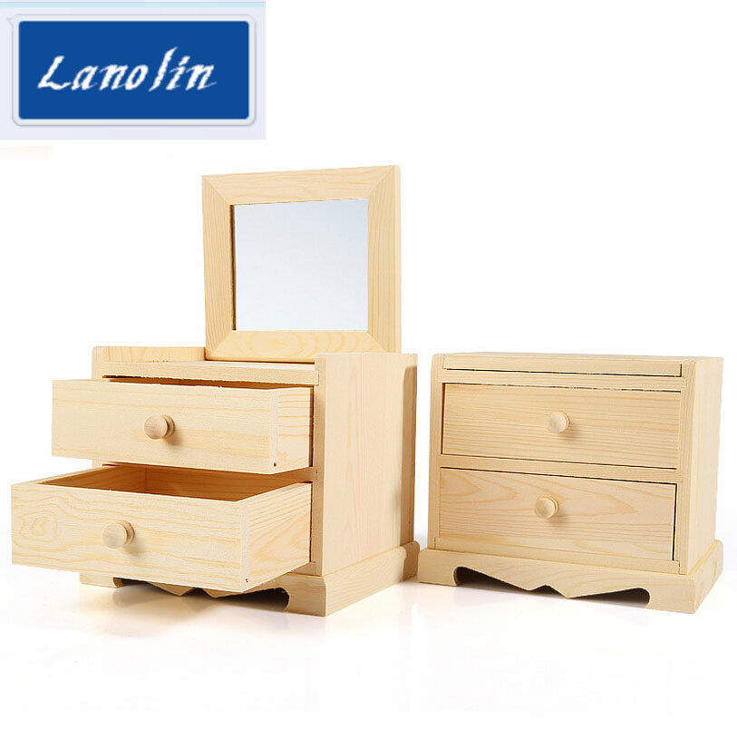 LAN Lin jewelrys display box For Store Wood Jewelry Display Stand Showcase rings Display Stand Storage Jewelry boxes for girls(China (Mainland))