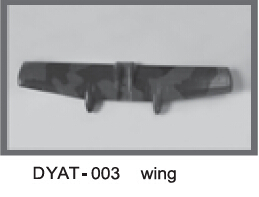 Main Wing Part for Dynam A10 V2 Electric RC Jet(Hong Kong)