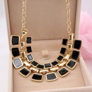2015 Trendy Necklaces Pendants Link Chain vapor Long Plated Enamel Statement Bling Fashion Necklace Women Jewelry