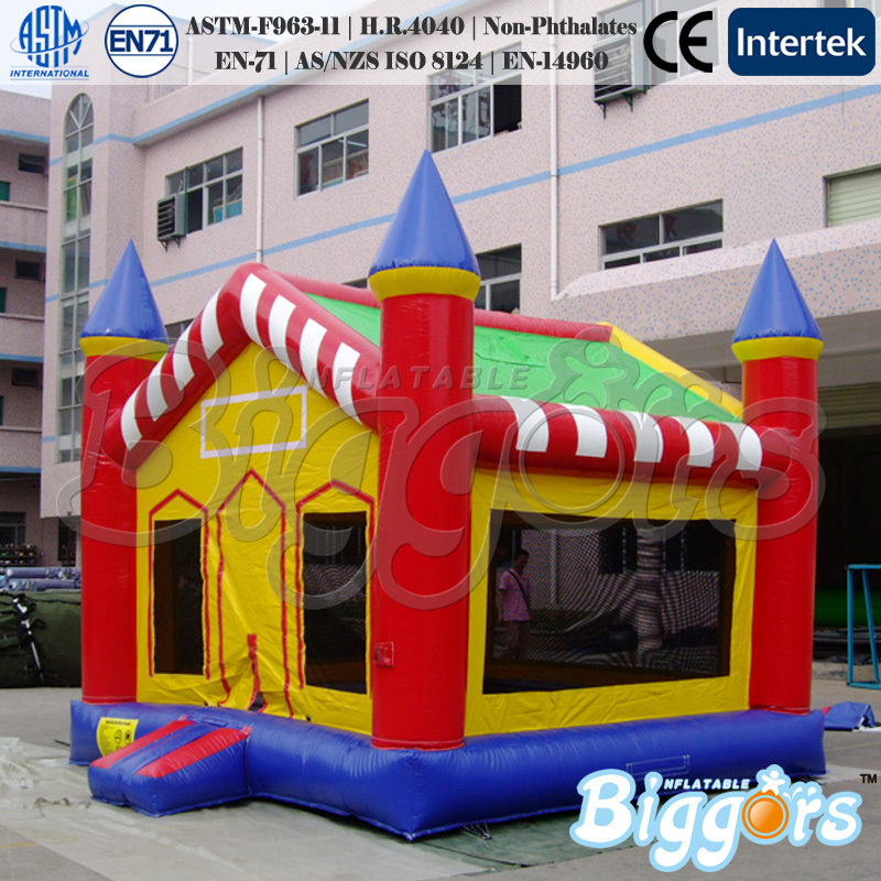 Backyard Birthday Party Inflatable Jumping Castle Bounce House Moonwalk Bouncer For Kids(China (Mainland))