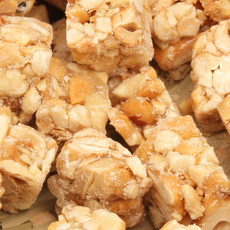 Cashew nut crisp Chinese snacks sucrose in sugar free peanut cashew cake Chinese food 220g 2F316