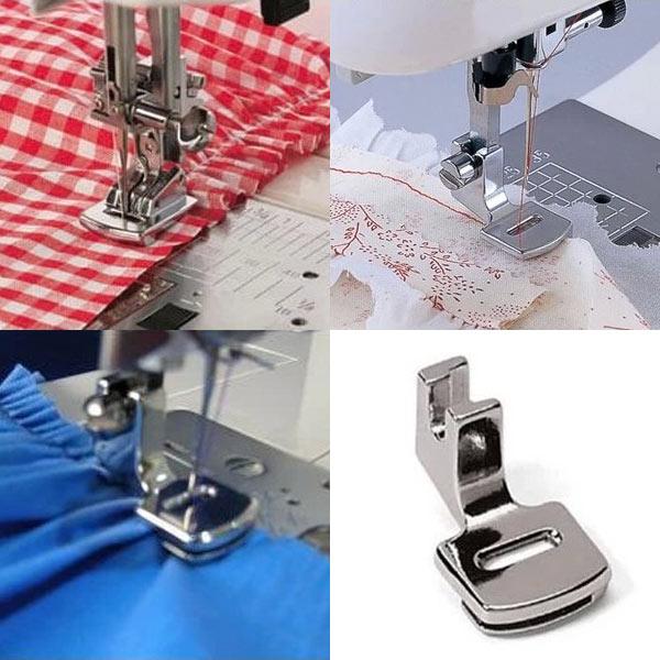 Fold Hem Presser Foot Feet Kit For Sewing Machine Janome Kenmore Juki Toyota
