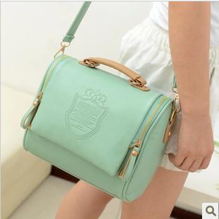 New 2015 Women's Messenger Bag PU Leather Handbag Fashion Ladies Vintage Bag Purse Shoulder Bags Small Tote Female Satchel 5075(China (Mainland))