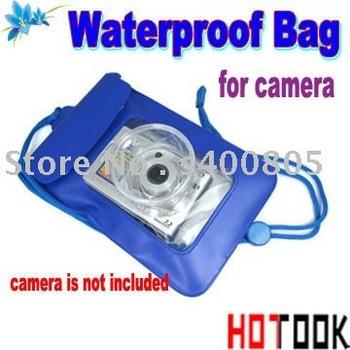 Digital Camera Waterproof bag Underwater Waterproof Case Bag Pouch For Digital Camera mobile cell phone x 20PCS - free shipping