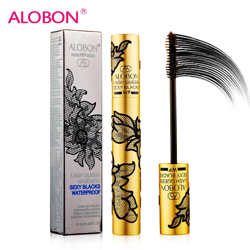 Alobon 1 Pcs Professional Brand Makeup rimel Curling Mascara, Lengthening mascara cosmetics maquiagem makeup mascara(AM125)0208(China (Mainland))