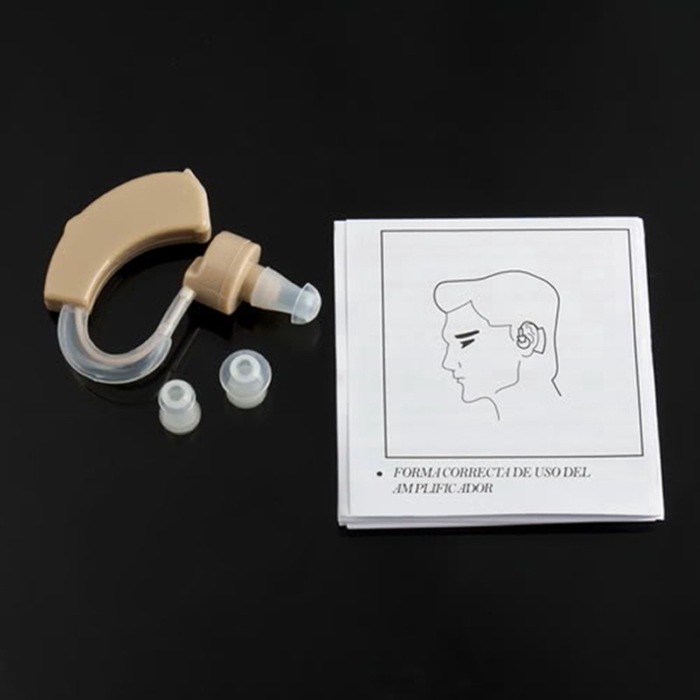 Adjustable Ear Sound Amplifier Volume Tone Hearing Aids Aid Behind The Ear Sound Amplifier Sound Adjustable Kit