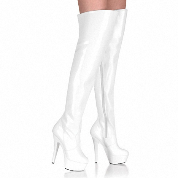 6 inch thigh high boots 15cm high heeled shoes motorcycle