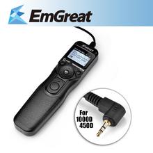 Shoot RS-60E3 Selfie Timer Remote Control Shutter Release Cable TC-C1 for Canon 60D 70D 600D 1000D G11 550D 650D 700D 750D 760D(China (Mainland))