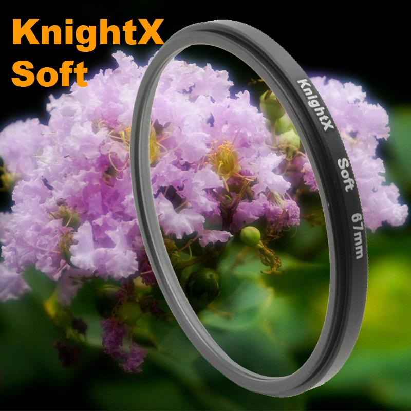 Soft Focus Effect Diffuser Lens Filter For Sony Canon Nikon 52mm 58mm 67mm Lens SLR camera 2015 new KnightX + tracking numberK(China (Mainland))
