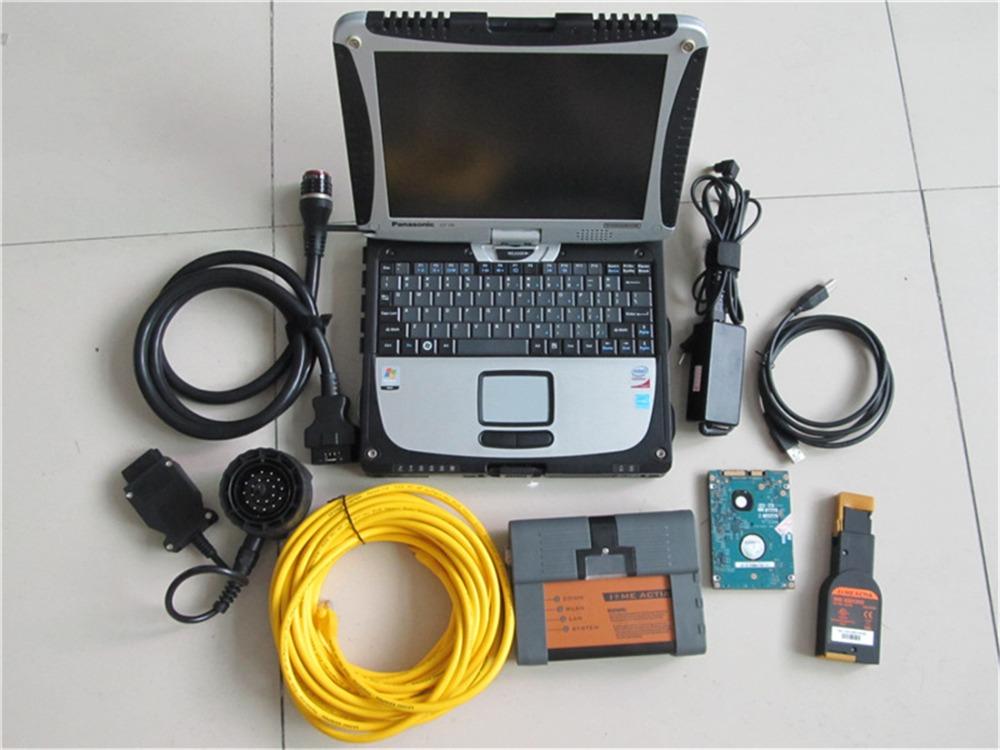 Для BMW ICOM A2 мотоцикла диагностический инструмент с touchbook CF-19 2016.03 программное обеспечение SSD ( ISIP : 57.4 ISID : 3.53 ) с многоязычным
