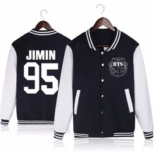BTS Bangtan Boys sudaderas mujer 2016 Baseball uniform fleece coat sweatshirt women tracksuits sport suits hoodie and pullover(China (Mainland))