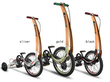 healthy sports bike 18 inch folding bike Lose weight bicycl dynamic bike no seat bike Exercise Bike rear disc brakes tricycle(China (Mainland))