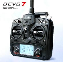 Walkera RC drone Remote Control Devo 7 DEVO7 transmitter 7 Channel DSSS 2.4G Transmiter + RX701 Receiver