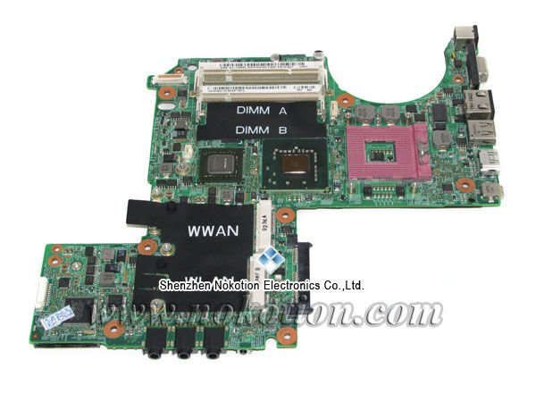 PU073 K984J P083J main board for Dell XPS M1330 laptop motherboard DDR2 with nvdia graphics 100% tested(China (Mainland))
