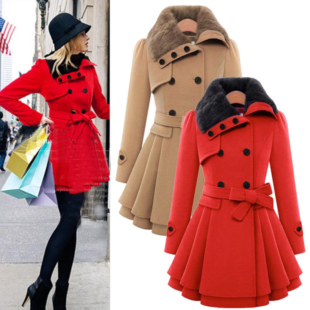 Winter Pea Coat Women