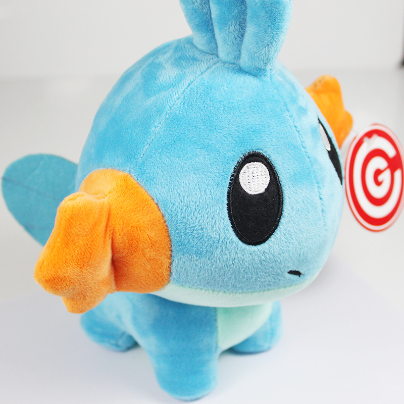 Japan Anime Pokemon Mudkip Plush Toys Figure Stuffed Toys Cartoon Pokemon Children Kids Soft Toys Gift(China (Mainland))