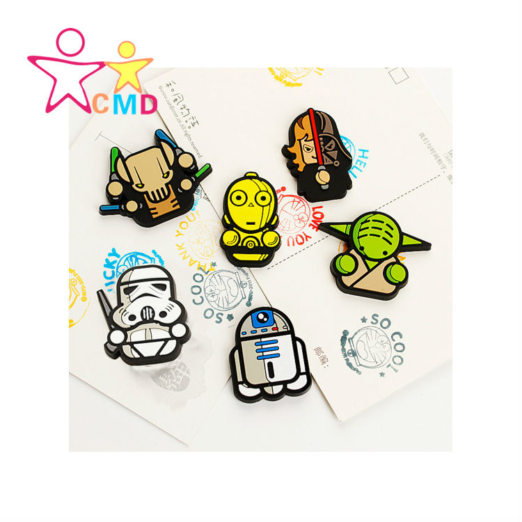 Star Wars phone shell materials PVC clip Jewelry Accessories(China (Mainland))