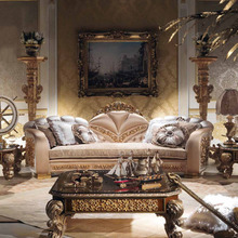 European Style Luxury Imperial Flower Decorative Living Room Set Sofa Set Top Quality Fabric(China (Mainland))