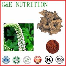 100% pure natural Black Cohosh Extracts/Triterpene Glycosides 10:1 1000g(China (Mainland))