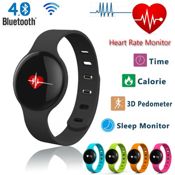 H18 Smart Wristband Watch Heart Rate Sleep Monitor Sport Fitness Track Bluetooth Pedometer for Huawei Xiaomi Samsung Lenovo iOS<br><br>Aliexpress