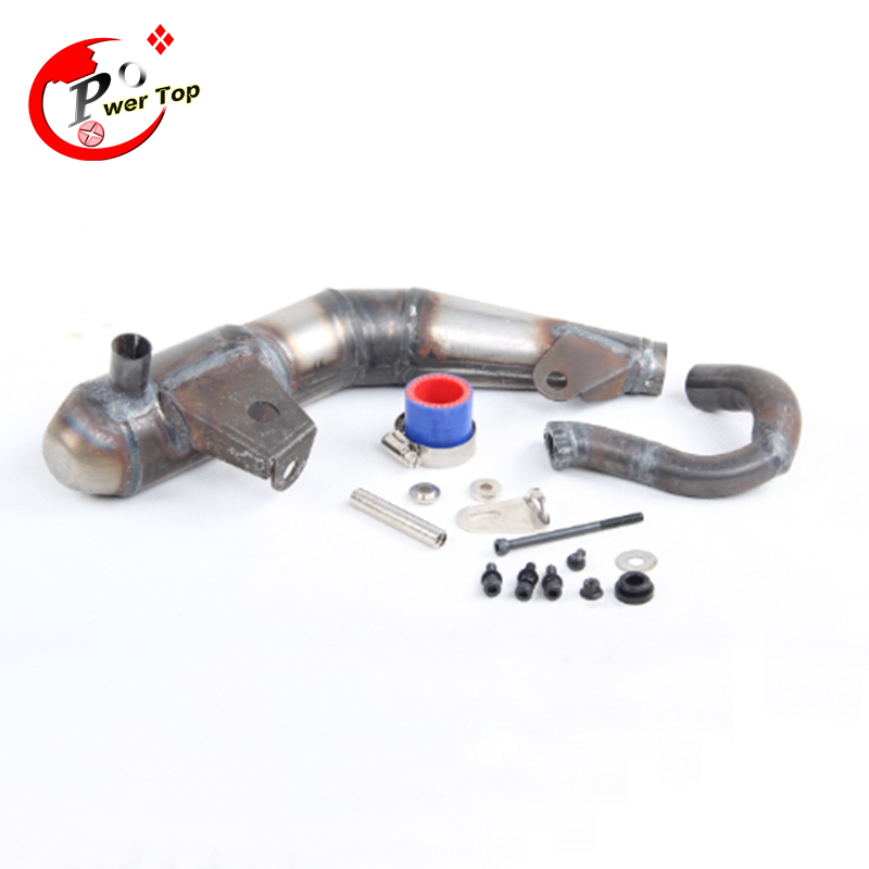 Silent silencer exhaust pipe tuned pipe For 1/5 LOSI 5T Parts HPI Ravan<br><br>Aliexpress