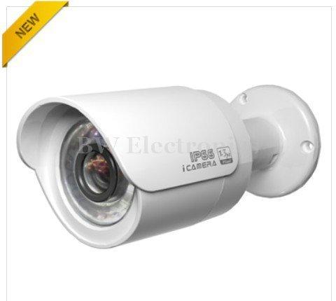 4pcs/lot 1.3Mp CMOS HD Network Water-proof IR Mini Network Bullet Camera, 720P IP CAMERA IPC-HFW2100