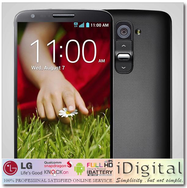 Original LG G2 D802 D800 Unlocked Smart Mobile Phone 5.2''IPS 1920*1080px 32GB/16GB Quad Core 2.3GHz 2GB RAM 13MP NFC 3G Android(China (Mainland))