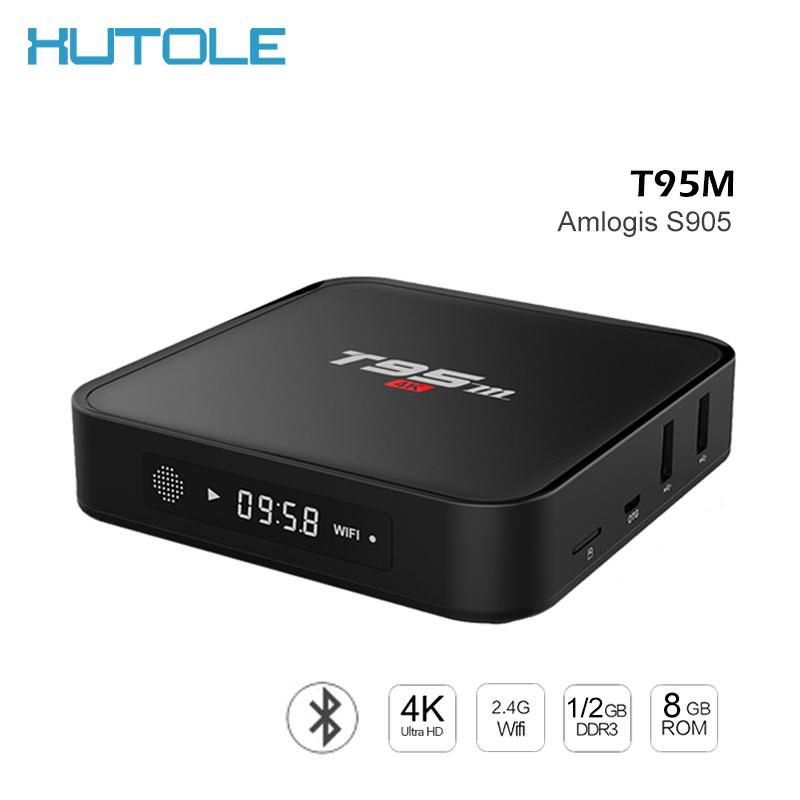 T95M TV Box 4K HD 2GB/8GB Android 5.1 WiFi Amlogic S905 Quad Core Network Set Top Boxes KODI 16.0 H.265 Bluetooth Media Player(China (Mainland))