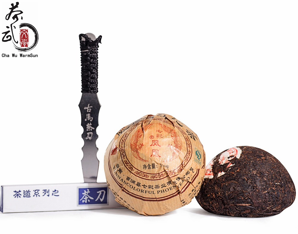 Chinese Puer Tea,100g/Bowl Pu'er Tuocha,One Order Have a Tea Knife,Buy 5piece have wholesale price,Yunnan Ripe Pu erh Tea(China (Mainland))