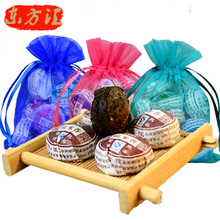 Popular Fragrant rice pu er bowl ripe tea Chinese Yunnan menghai Mini pu er tuocha pu