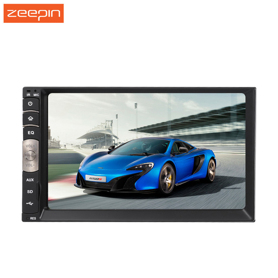 C500 Universal 2 Din 7 inch Touch Screen Car Auto Stereo Autoradio Radio Bluetooth FM Tuner AM USB MP3 MP4 V Player Carplay(China (Mainland))