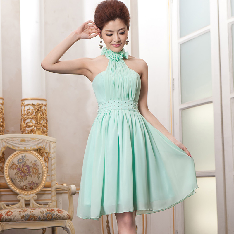 Chiffon Bridesmaid Dresses prom to wedding party dress ...
