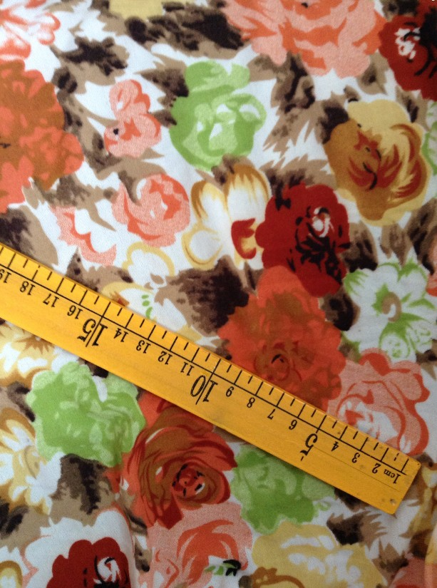 2014 SPRING fashion 200*180cm soft colorfully flower printed polyester stretch jersey fabric,XERY23480-2(China (Mainland))