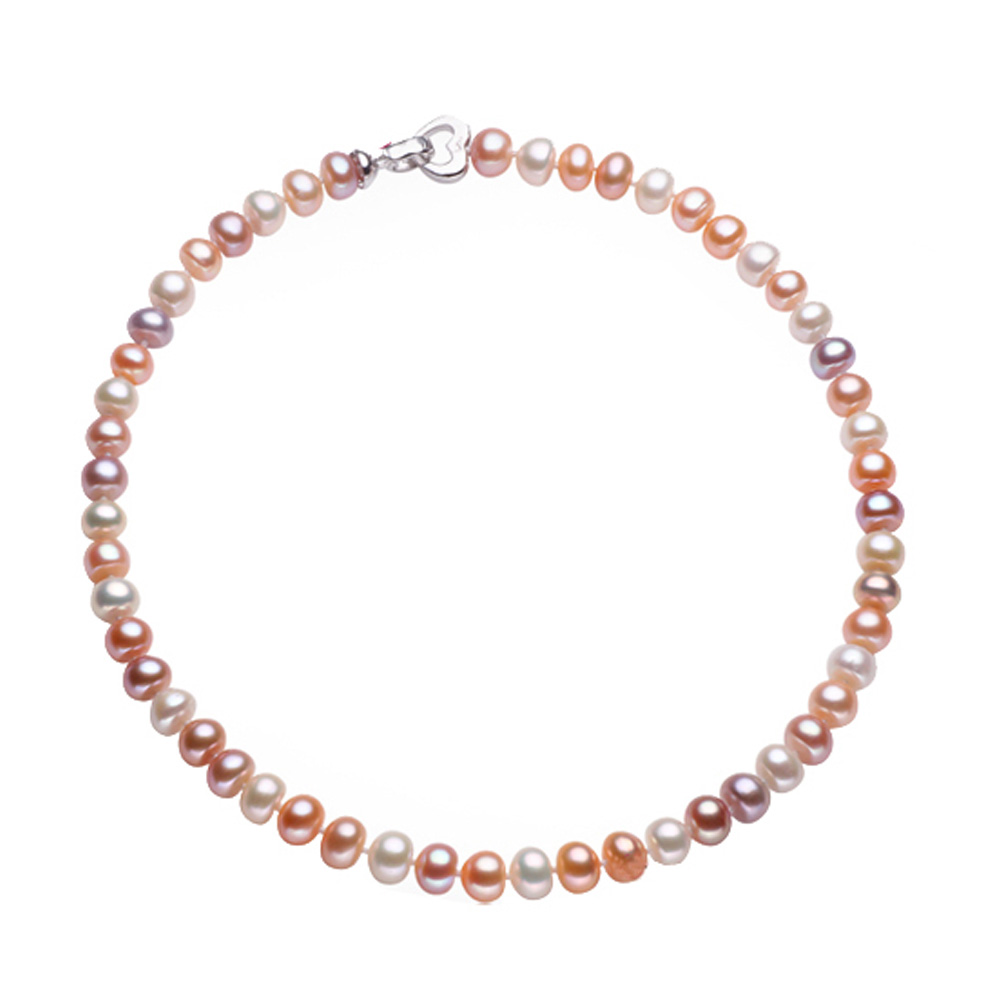 43/45/48/50/55/60/80cm Long Necklace For Women Classic 9-10MM Big Size Natural Pearl Choker Necklace 4 colors Promotion(China (Mainland))