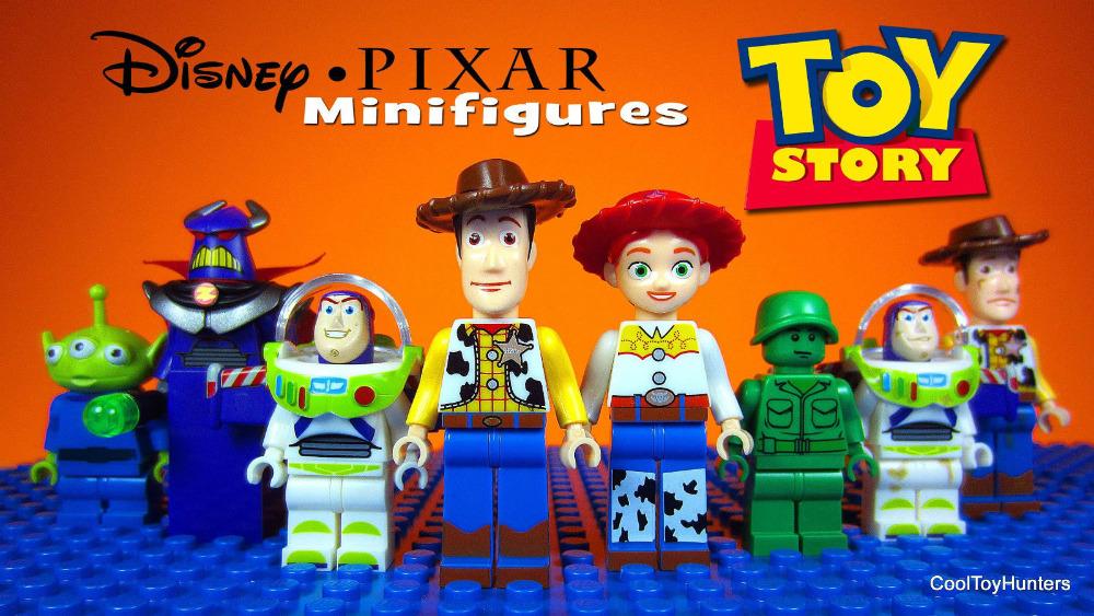 TOY STORY 4 Mr Potato Head Jessie Woody Buzz Lightyear Alien Assemble DIY Minifigures Model Building Blocks Kids Toys - LEG0 TOYS store